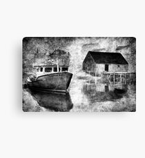 Harbour Mist Canvas Print