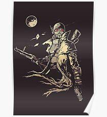 Fallout NCR Ranger Sketch Fan Art Poster Poster