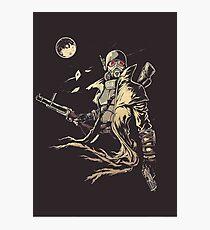 Fallout NCR Ranger Sketch Fan Art Poster Photographic Print