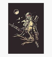Fallout NCR Ranger Sketch Fan Art Poster Photographic Print