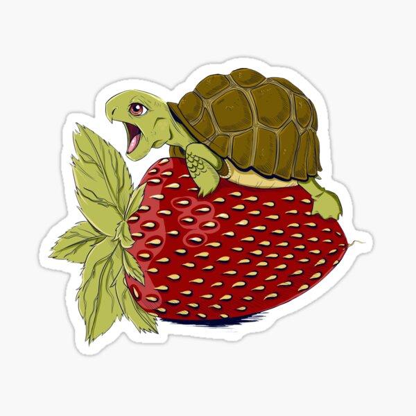 Turtle Berry Sticker