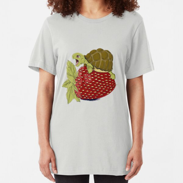 Turtle Berry Slim Fit T-Shirt