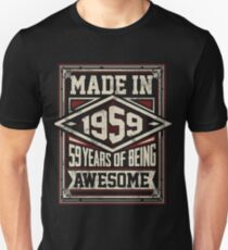 Made In 1959 59 Slim Fit T-Shirt