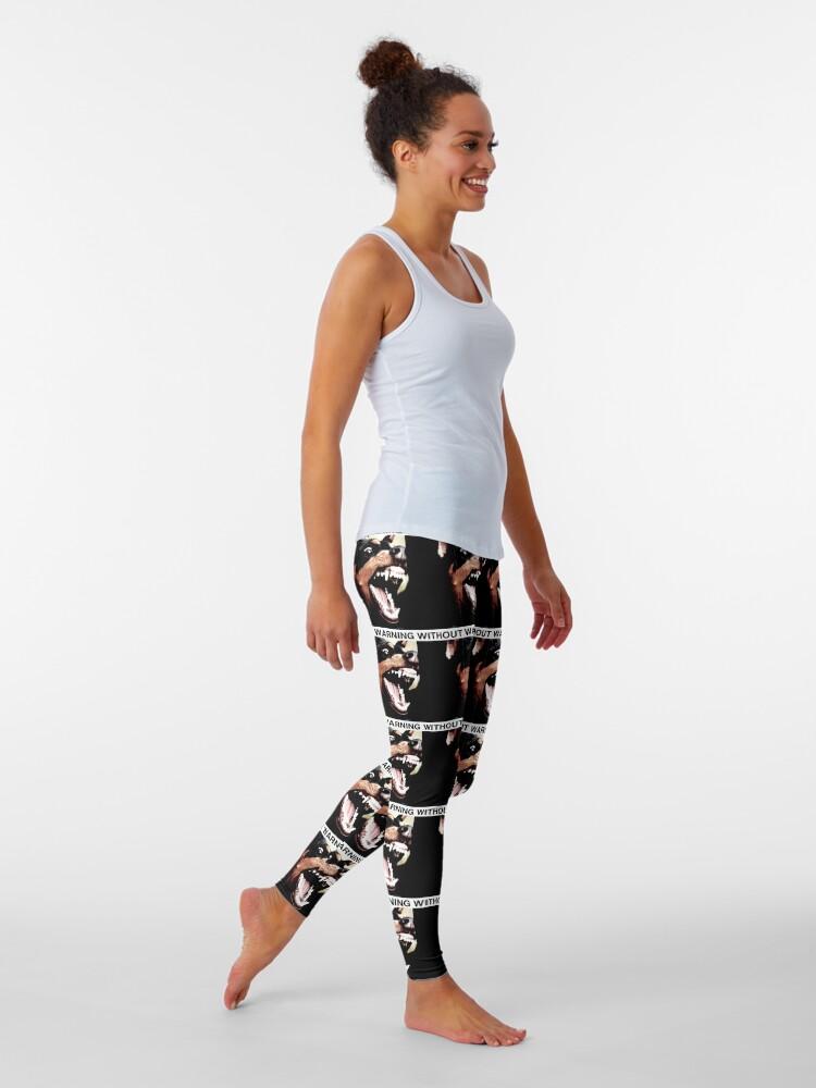 Alternate view of WITHOUT WARNING Leggings