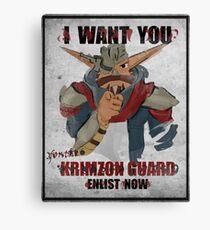 Join the Krimzon Gaurd Canvas Print