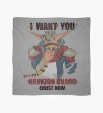 Join the Krimzon Gaurd Scarf