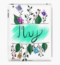 May flowers iPad Case/Skin