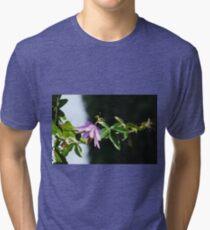 Lavender Lady Passiflora  Tri-blend T-Shirt