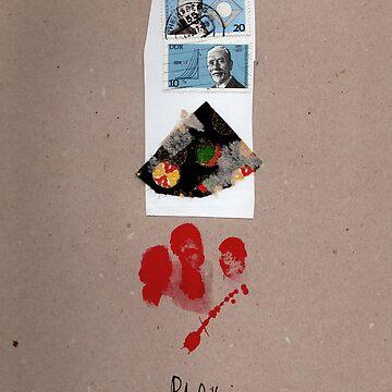 Blau Rot by rebeccagozion