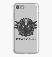 The Barron's order (black) iPhone Case/Skin