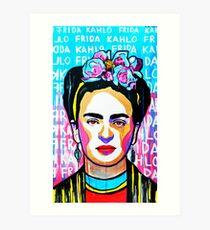 Frida Kahlo Farbe Kunst Kunstdruck