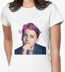 Camiseta entallada para mujer Noah schnapp byers