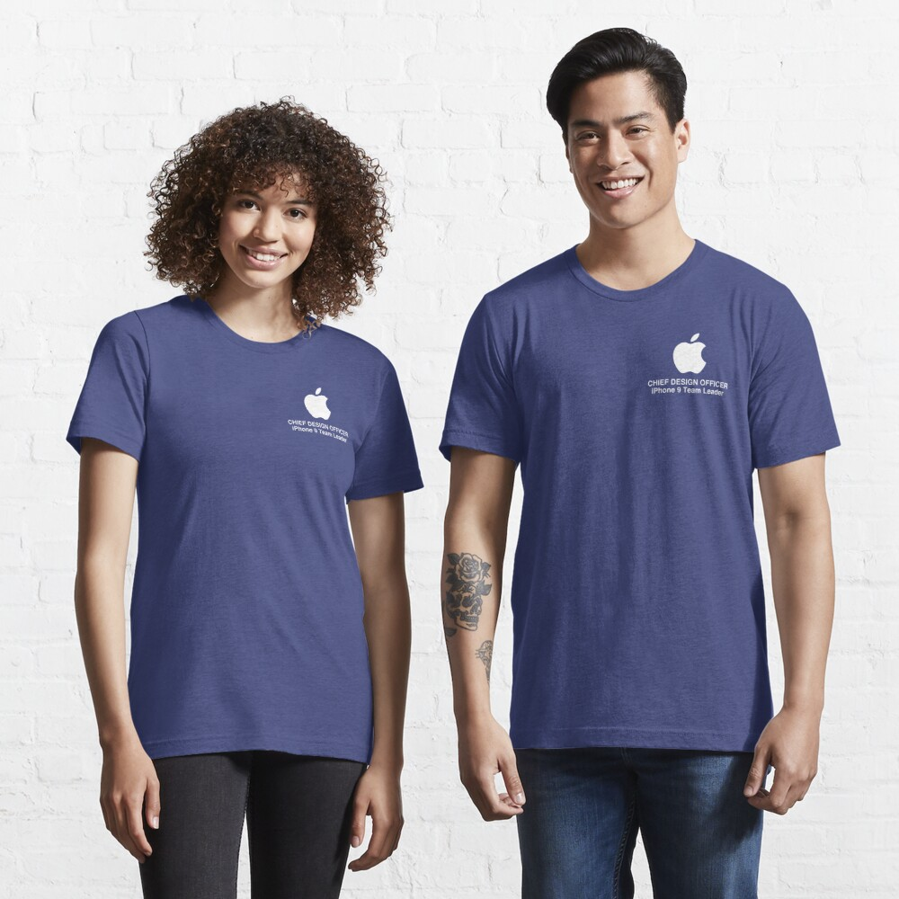 APPLE, JONATHAN IVE HQ TITLE PRODUCTS Essential T-Shirt