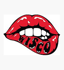 Wisco Lippen Fotodruck