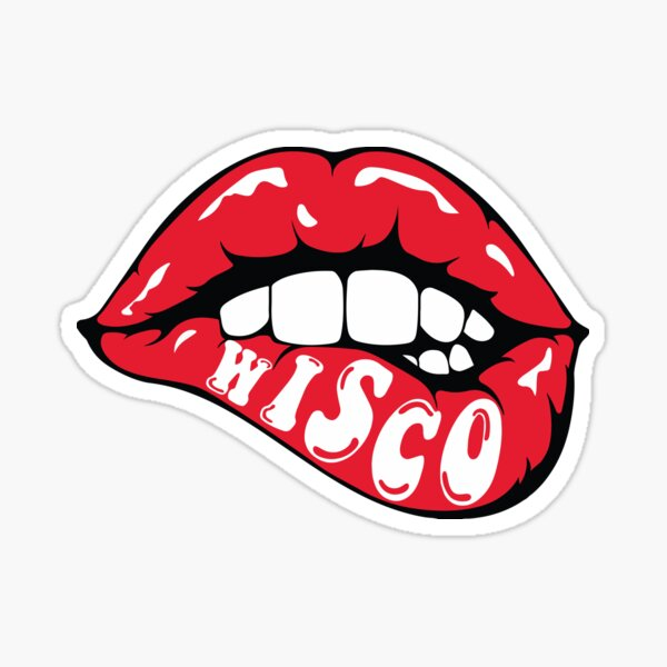 Wisco Lips Sticker