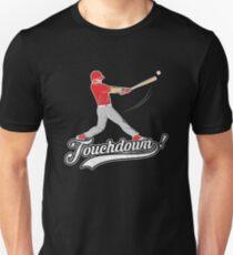 Funny Vintage Touchdown Baseball T-Shirt Unisex T-Shirt