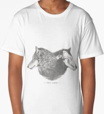 Canis lupus Long T-Shirt