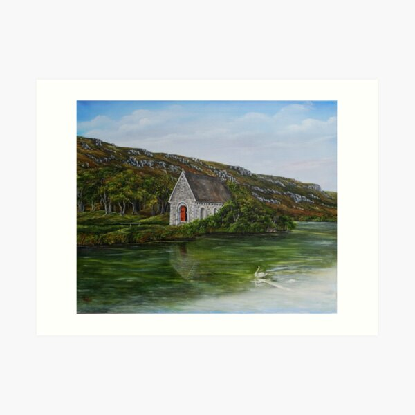 Gougane Barra, County Cork, Ireland Art Print