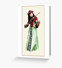 FIDDLERS ONE Greeting Card