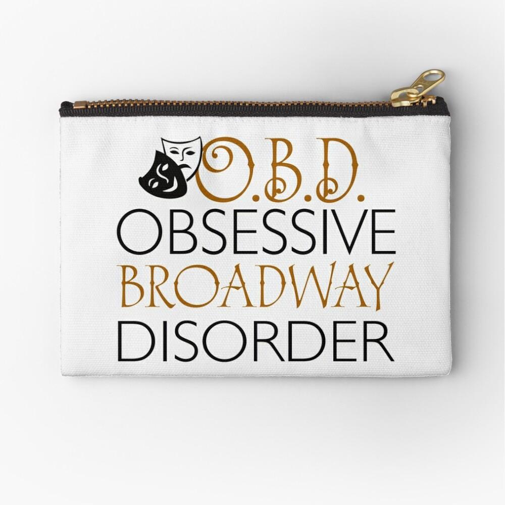 O.B.D. Trastorno obsesivo de Broadway. Bolsos de mano
