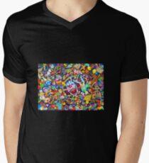 It's horror Men's V-Neck T-Shirt