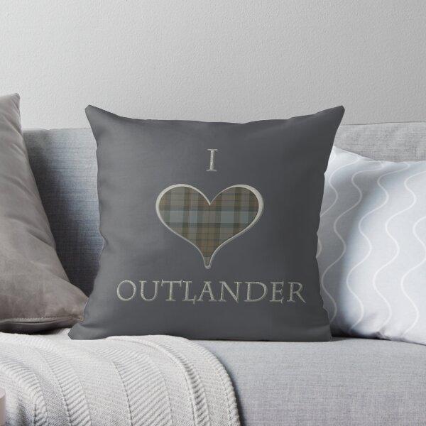Ich liebe Outlander Dekokissen