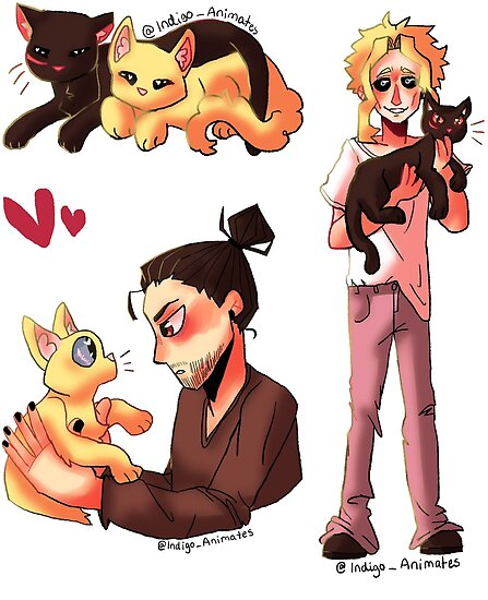 """Erasermight Kitty Stickers!!"""" Posters By"""