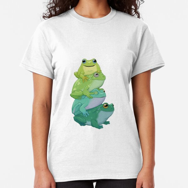 Sticky frog stack Classic T-Shirt