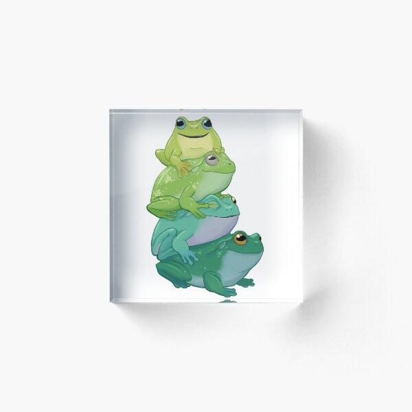 Pouce de grenouille collante Bloc acrylique