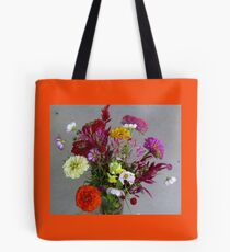Color my life flowers vase Tote Bag