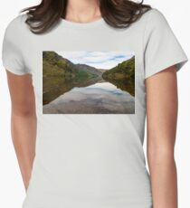 Upper Lake Glendalough, Co Wiclow Women's Fitted T-Shirt