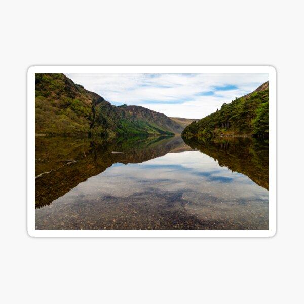Upper Lake Glendalough, Co Wiclow Sticker