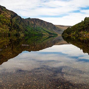 Upper Lake Glendalough, Co Wiclow by Marsbub