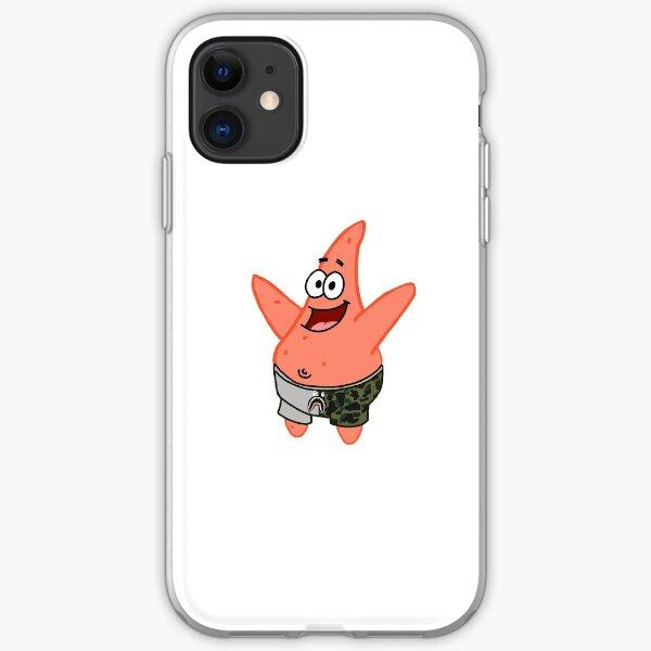 patrick the star x bape iPhone Soft Case