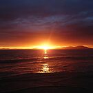 Sunset on the West Coast by Alan Rodmell