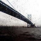 Benjamin Franklin Bridge by JamieLA