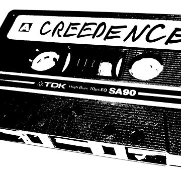 The Big Lebowski Creedence Tape (CCR) by cowbellnation