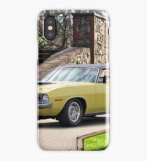 1970 Plymouth Barracuda 440-6 I iPhone Case