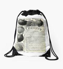 Onions. Drawstring Bag