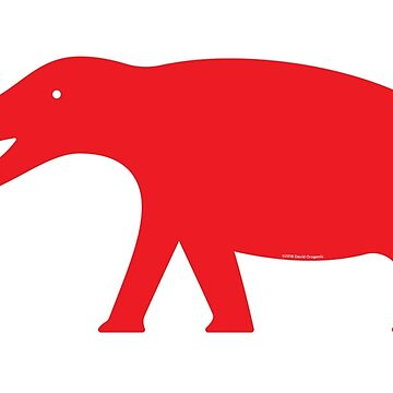 Minimalistic Platybelodon by anatotitan