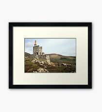 Allihies mines Framed Print