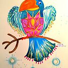 Heavenly Bird 05 - Shield Bird by jonkania