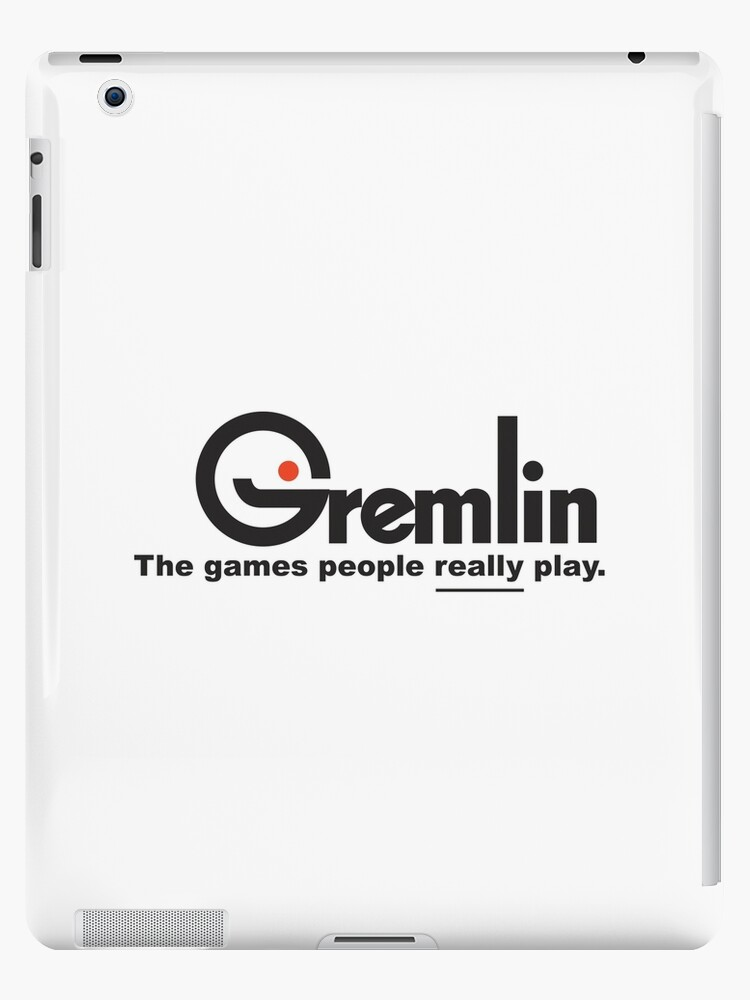 Gremlin Games Logo Ipad Case Skin By Crazykong