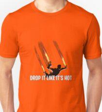 Camiseta ajustada Déjalo caer como si estuviera ardiendo
