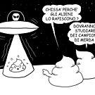 VITA E AVVENTURE DI PICCOLE MERDE - Gli alieni by CLAUDIO COSTA