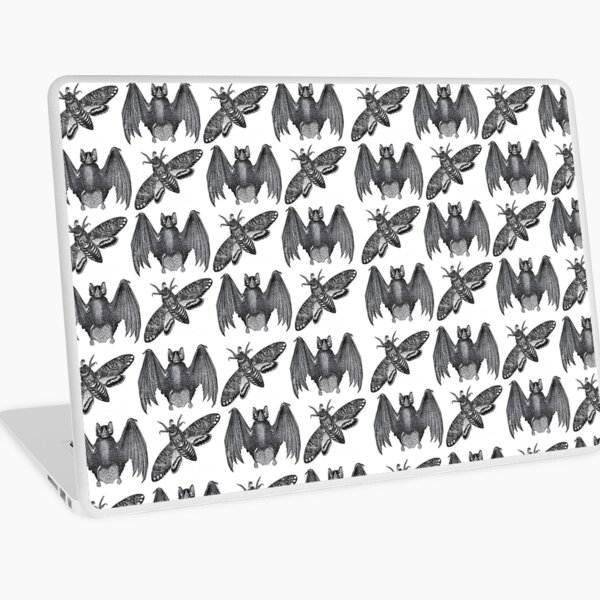 Bat Moth Laptop Skin
