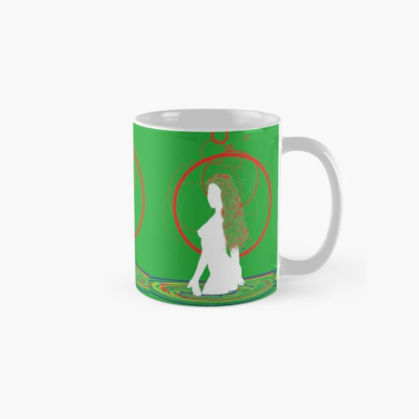 red hair in the water Classic Mug