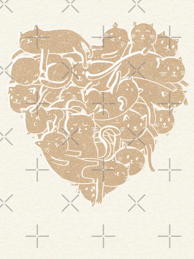 I Love Cats Heart by tobiasfonseca