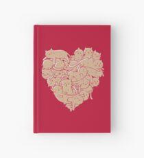 Ich liebe Katzen Herz Notizbuch