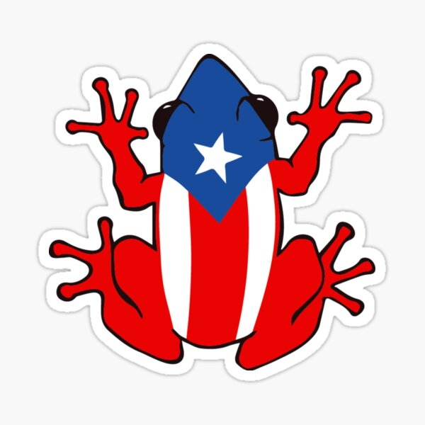 Puerto Rican Coqui Decal